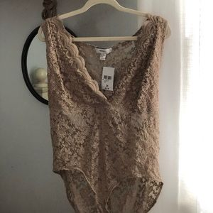BRAND NEW lace body suit